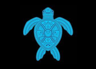 sea turtle Vector t-shirt design