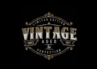 vintage style Vector t-shirt design
