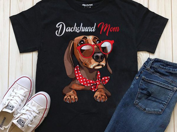 Dog Mom Collection T-shirt Designs Bundle