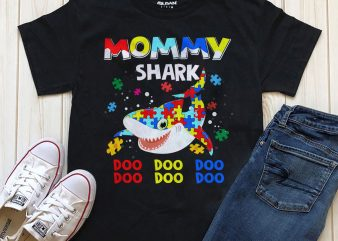 1 DESIGN 32 VERSIONS – AUTISM SHARK