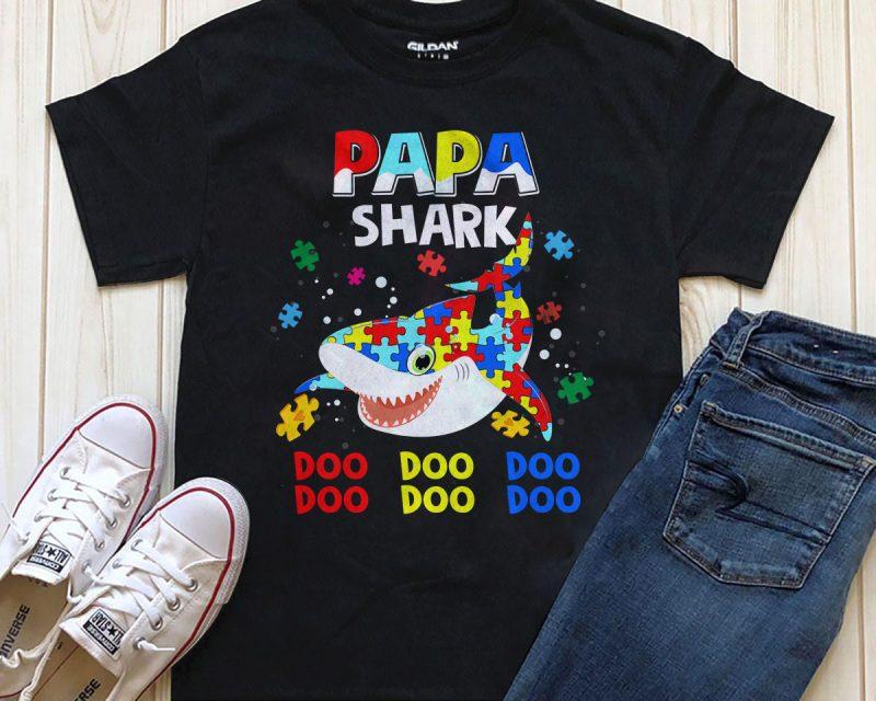 1 DESIGN 32 VERSIONS – AUTISM SHARK buy t shirt design