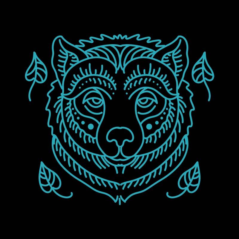 bear vector t-shirt design - Buy t-shirt designs