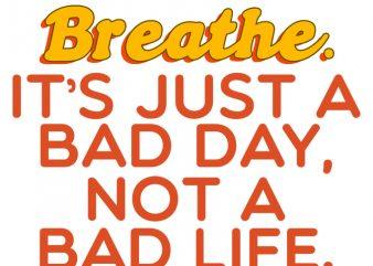 Breathe shirt template design