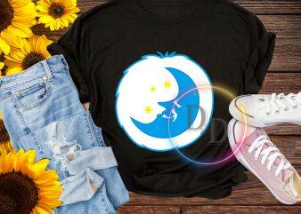 Halloween Bear Moon costume T shirt design for kids
