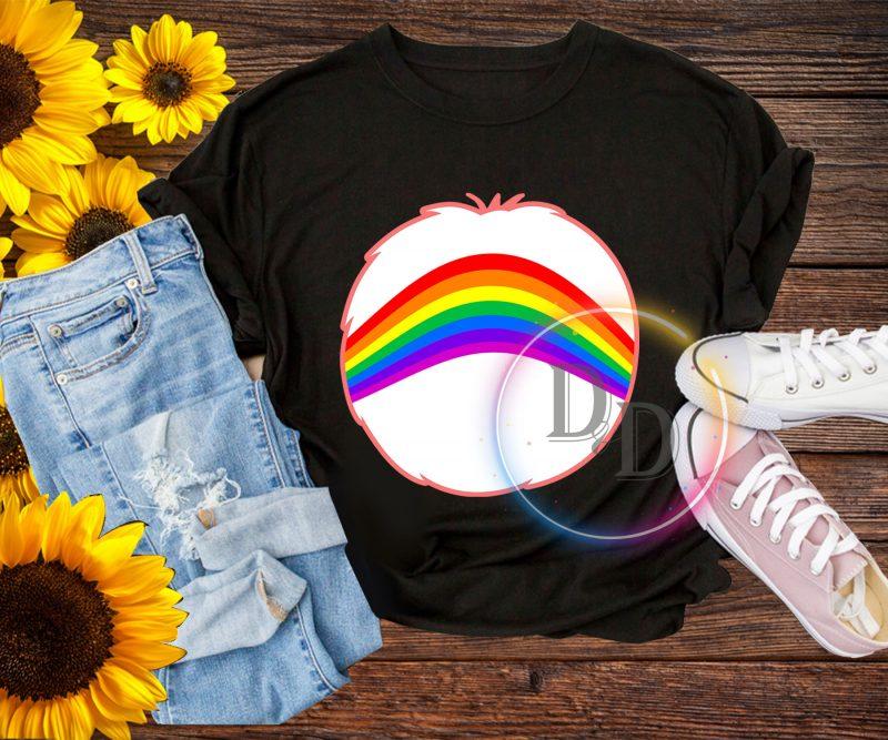 Halloween Bear Rainbown costume T shirt design for kids t shirt design graphic