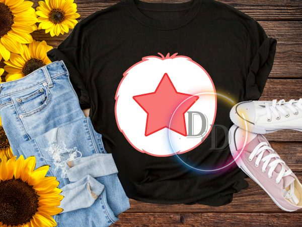 Halloween Bear Star costume T shirt design for kids