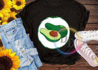 Halloween Bear Vocado costume T shirt design for kids