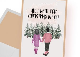 All I want for Christmas is you buy t shirt design