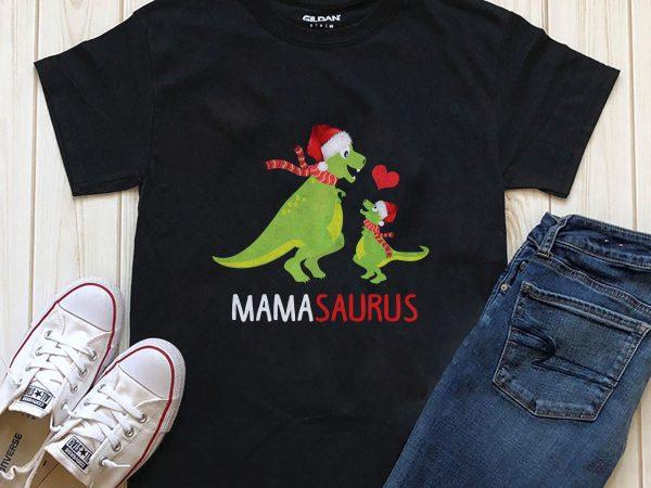 Mama Saurus Png T-shirt Design template