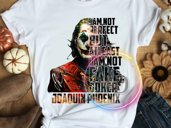 Joaquin Phoenix Not Fake Joker T shirt The Joker 2019