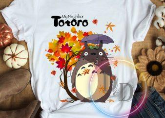 My Neighbor Totoro Autumn Thanksgiving T shirt