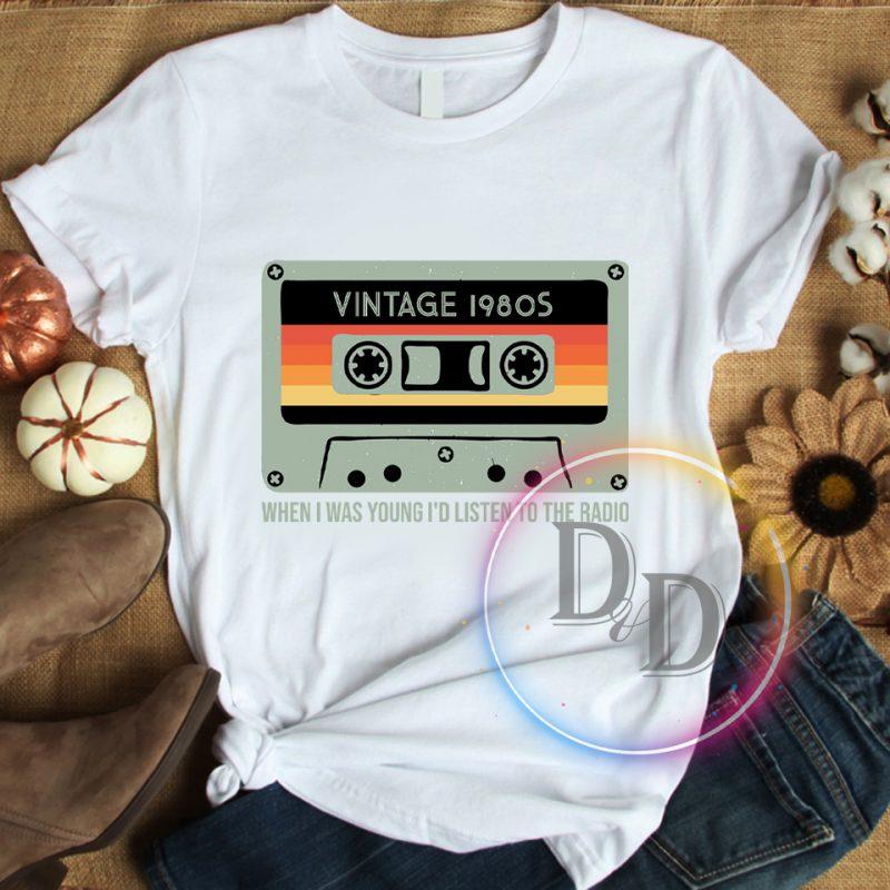 Vintage 1980s Birthday T shirt t shirt design graphic