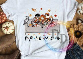 Harry Potters Hermione Ron Friends Autumn Thanksgiving T shirt