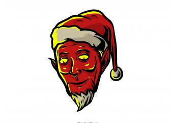 Evil Santa Claus buy t shirt design