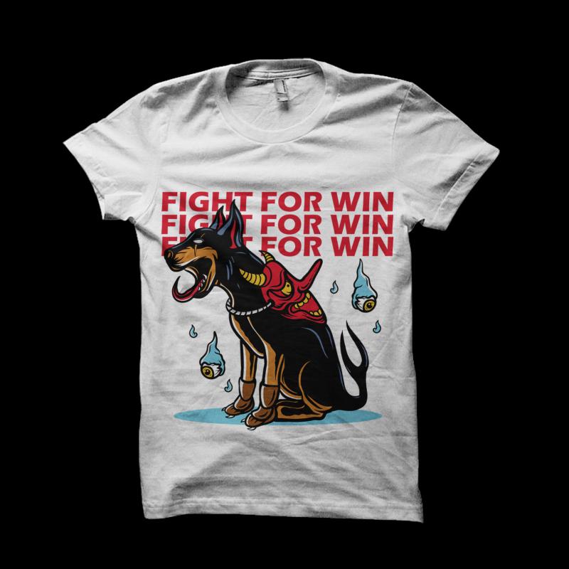 dog hunter t shirt designs for merch teespring and printful