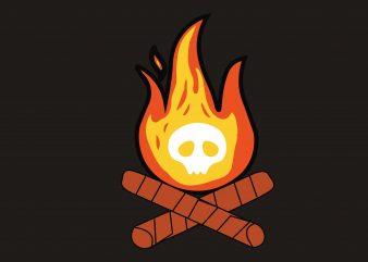 Halloween Skull graphic t shirt