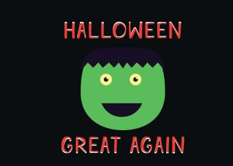 Halloween Great Again graphic t shirt