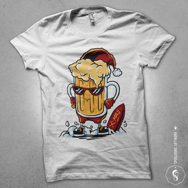 xmas fun Vector t-shirt design buy t shirt designs artwork