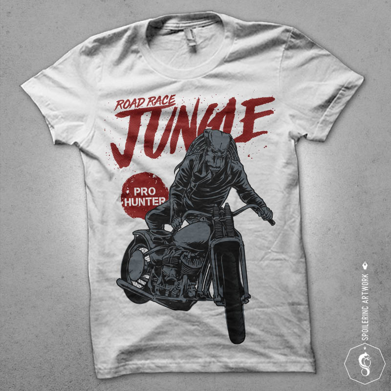 classic hunter tshirt design t-shirt designs for merch by amazon