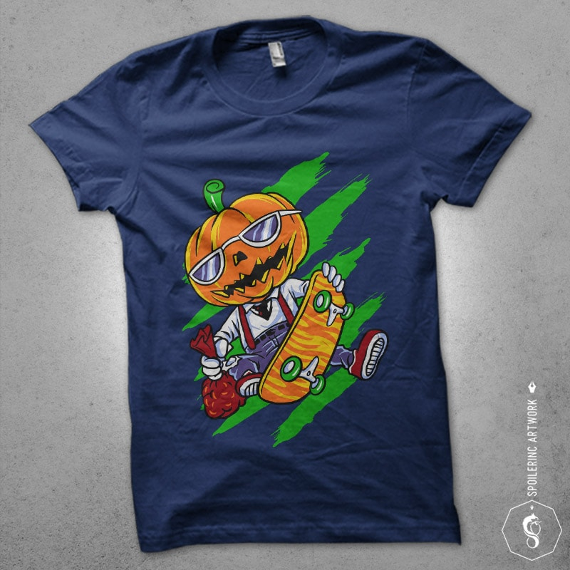 trick or treat Vector t-shirt design commercial use t shirt designs