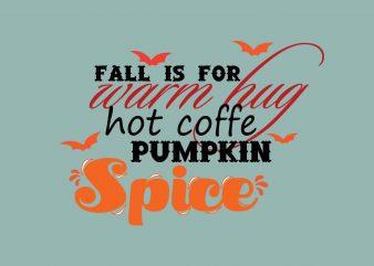 Pumpkin Spice Haloween buy t shirt design artwork