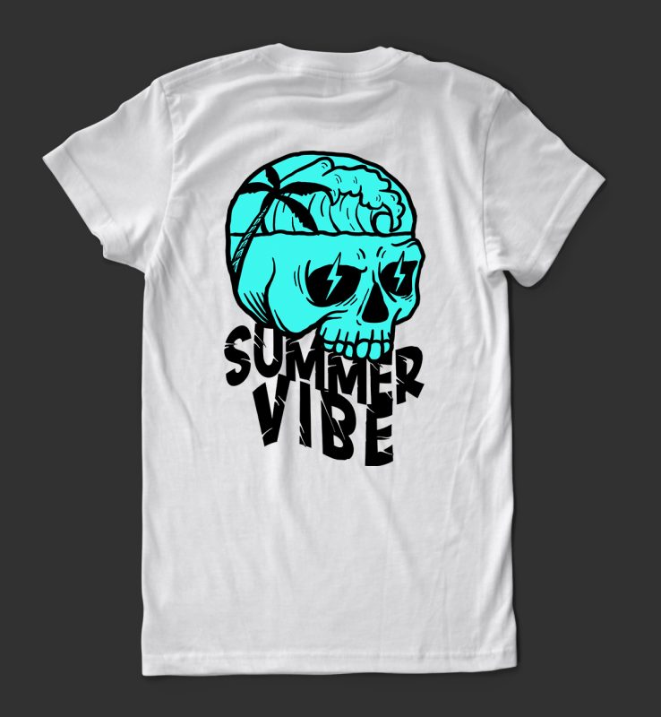 summer vibe 1 t-shirt design tshirt factory