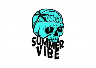 summer vibe 1 t-shirt design