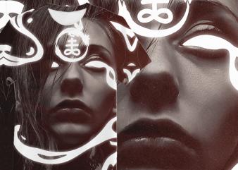 Alchemic All-Over Tshirt Poster Design
