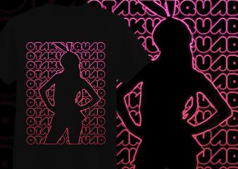 Otaku Geek T-Shirt Design