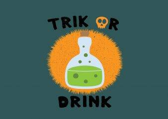 Trik Or Treat buy t shirt design artwork