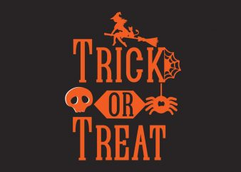 Trick Or Treat t shirt designs for sale