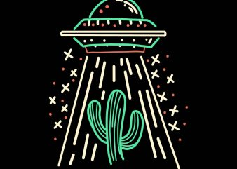 ufo tshirt design