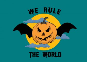 We Rule The World t shirt design for sale