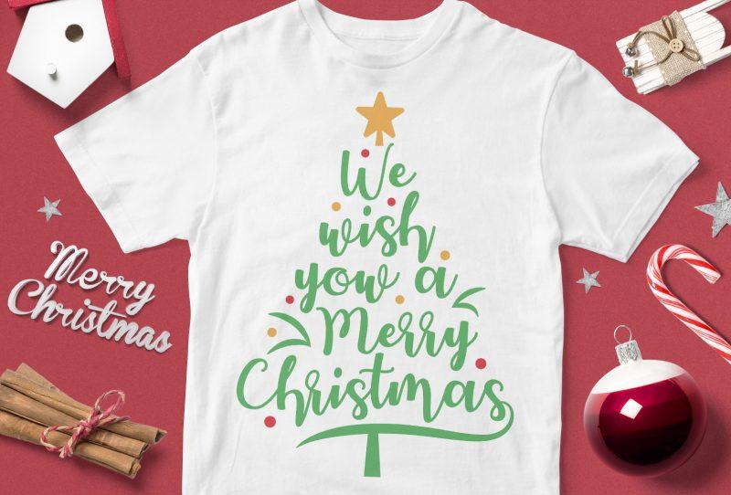 Christmas print on demand