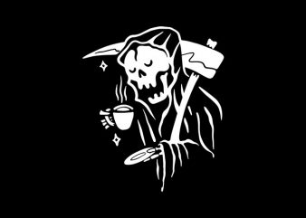 Coffee Reaper t shirt design for purchase