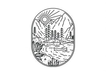 Canoe t shirt design for sale