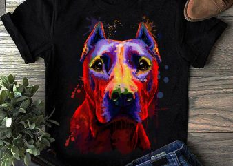 Hand Drawing Dog By Photoshop – 11 graphic t shirt