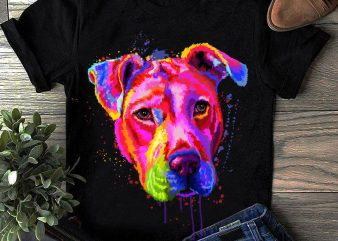 Hand Drawing Dog By Photoshop – 19 graphic t shirt