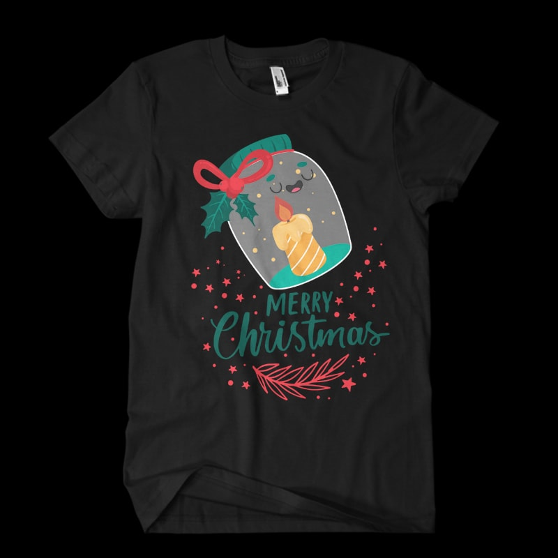 Christmas9 t shirt vector file tshirt factory