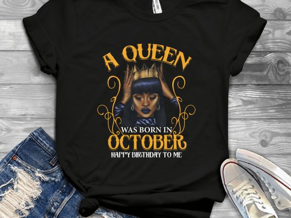 Birthday Girl and Queen – Editable – Scale Easily – 20 t-shirt design for sale