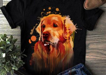 Hand Drawing Dog By Photoshop – 21 graphic t shirt