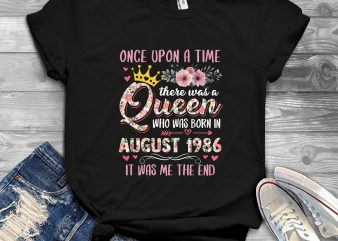 Birthday Day Queen Once Upon The Time t-shirt design png