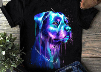 Rottweiler – Hand Drawing Dog By Photoshop – 4 t-shirt design png