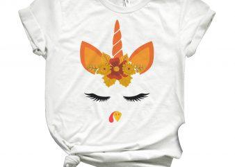 turkey unicorn t shirt designs for sale