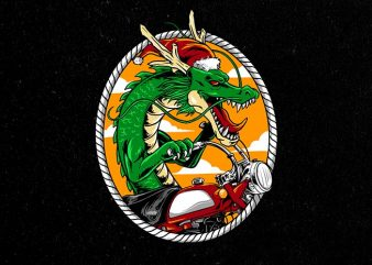 dragon rider Graphic t-shirt design