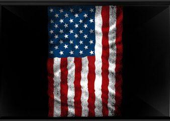 AMERICAN Flag Chest buy t shirt design