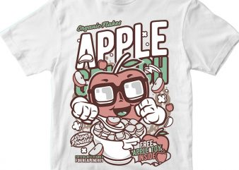 Apple Crunch t shirt design for purchase
