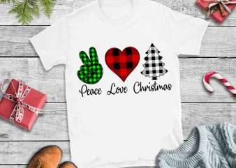 Peace Love Christmas PNG,Peace Love Christmas DESIGN TSHIRT