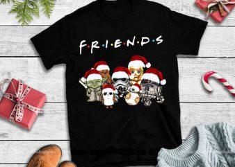 Friends Star War Movies Hoodie PNG,Friends Star War Movies Hoodie design tshirt