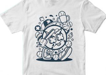 Baseball Champion t shirt template